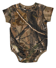 Code V Infant Bodysuit REALTREE Design