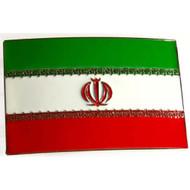 Iran Belt Buckle - Green White Red