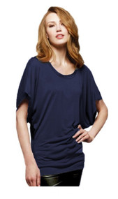 Bella - Ladies' Flowy Rage Sleeve Dolman T-shirt