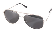 Basic Shadow Aviator Tinted Sunglasses + GT Micro Pouch