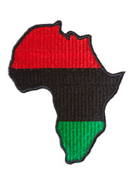 Pan-African Continent Patch