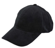 Top Headwear Suede Baseball Cap