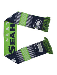 Reversible Split Logo Scarf - Seattle Seahawks