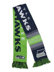 Reversible Split Logo Scarf - Seattle Seahawks