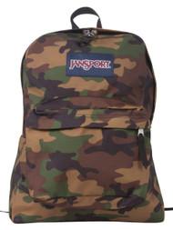 Jansport Superbreak Backpack - Surplus Camo