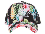 Gravity Outdoor Co. Hibiscus Adjustable Baseball Cap