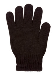 Skelleton Black Fingerless Gloves