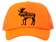 Protect the Great Outdoors Moose Trucker Hat w/ Rope Brim