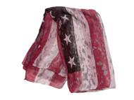 Distressed Style USA Design Scarf