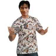 Charlie Sheen Shirt and Mask
