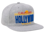 Embroidered California Structured Snapback - Hollywood
