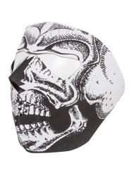 Skull Neoprene Full Face Mask Nose Mouth Vent Snow