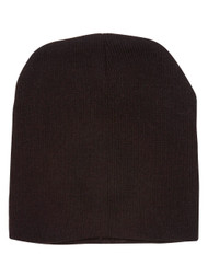Tattoo Lucky Bird Cuffless Beanie - Black