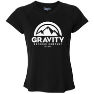Gravity Outdoor Co. Womens Performance V-Neck