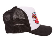 Candy Skull Patch Trucker Foam Panel Hat
