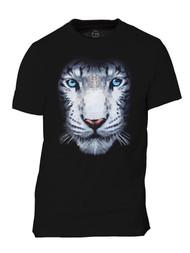 Men's White Tiger Short-Sleeve T-Shirt