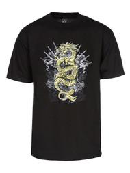 Men's Golden Dragon Short-Sleeve T-Shirt