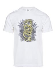 Mens Golden Dragon Short-Sleeve T-Shirt