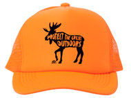 Protect the Great Outdoors Moose Trucker Hat