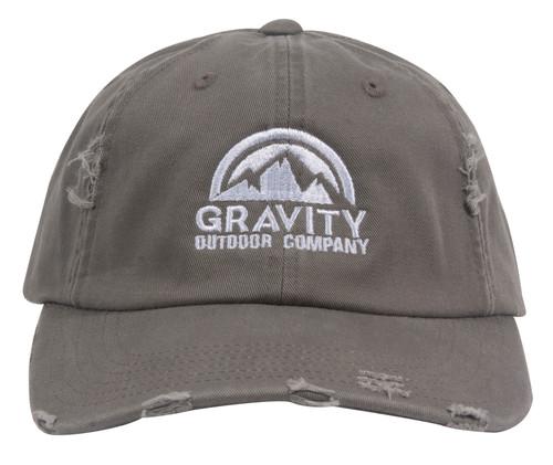 Gravity Outdoor Co. Distressed Adjustable Baseball Cap