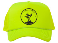 Joshua Tree Adjustable Mesh Trucker Hat w/ Rope Brim
