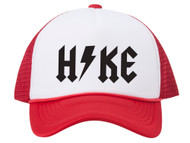 Hike Thunderbolt Adjustable Foam Trucker Hat w/ Rope Brim