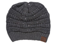 CC Winter Knitted Beanies w/ Sequins