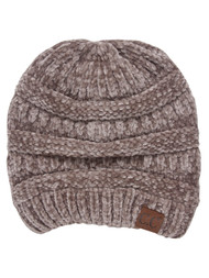 CC Ribbed Chenille Winter Beanie