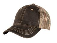 Top Headwear Pigment Print Camoflauge Cap