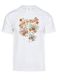 Mens Viva La Fiesta Sugar Skull Short-Sleeve T-Shirt