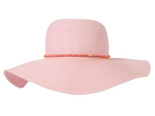 Oversized Bead Band Sun Hat