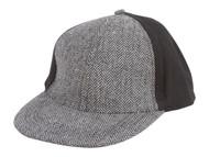Chevron Wool Style Snapback Hat