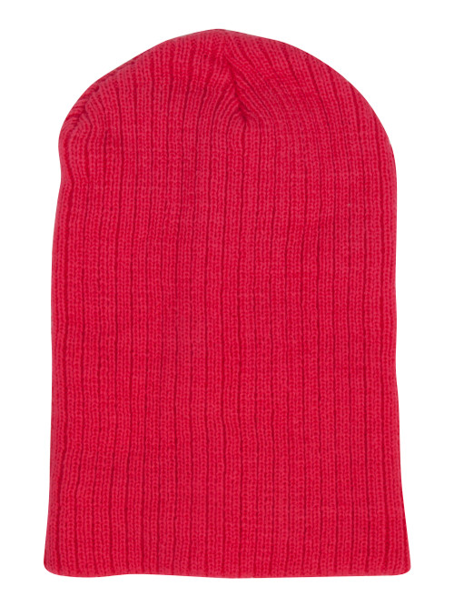 10.5 inch Winter Ribbed Beanie