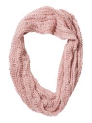 Infinity Loop Knit Scarf