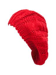 Weaved Knit Beret