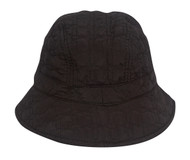Quilted Style Fleece Lining Unisex Bucket Hat