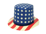 ChicHeadwear 100% Paper Uncle Sam Hat w/ Band