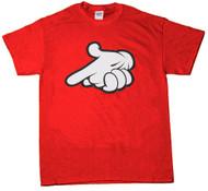 Hand Gun Graphic T-Shirt