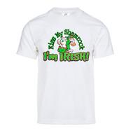 Mens Kiss My Shamrock Short-Sleeve T-Shirt