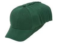 Top Headwear 12-Pack Youth Adjustable Baseball Hat