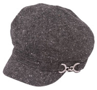 Womens Fashion Wool Newsboy Winter Cap