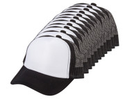 12-Pack Youth Adjustable Trucker Foam Mesh Caps