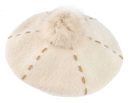 Top Headwear Wool Beret w/ Pom