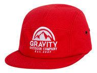 Gravity Outdoor Co. 5 Panel Cotton Adjustable Buckle Hat