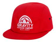 Gravity Outdoor Co. 5 Panel Cotton Adjustable Buckle Hat