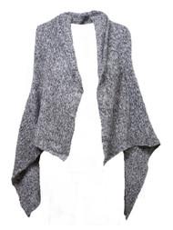 Gravity Threads Sleeveless Cardigan Vest