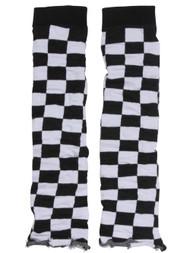 Womens Checkered Leg Warmer