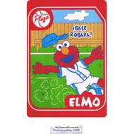 Elmo Twin Acrylic Blend Plush Blanket (Steal the Base)