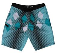 Mens Paradise Teal Board Shorts