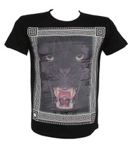 Konflic Fierce Panther Framed Muscle T-Shirt